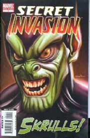 Skrulls One Shot (2008) Secret Invasion Marvel comic book